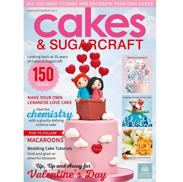časopis Cakes and Sugarcraft č.150