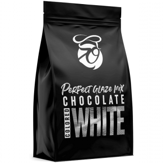 Zrcadlová poleva Perfect Glaze Chocolate Mix WHITE 750g