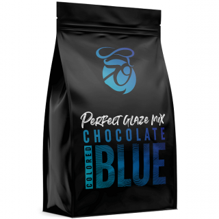 Zrcadlová poleva Perfect Glaze Chocolate Mix BLUE 750g