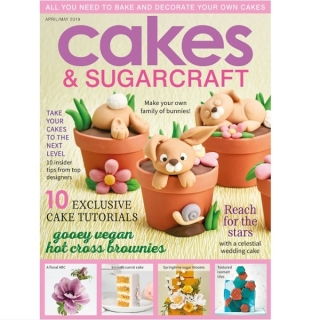 časopis Cakes and Sugarcraft č.151