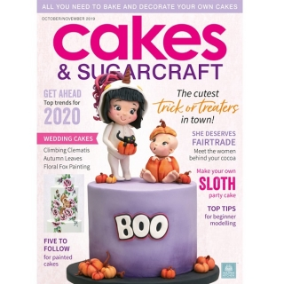 časopis Cakes and Sugarcraft č.154